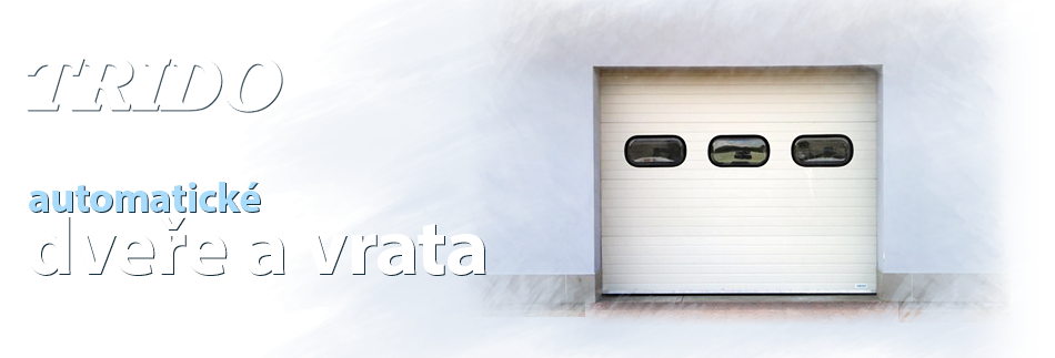 Více o automatických dveřích a vratech Trido