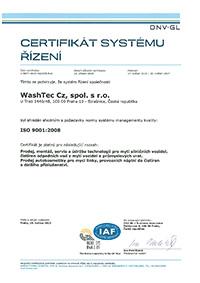ČSN EN ISO 9001:2008 - česky